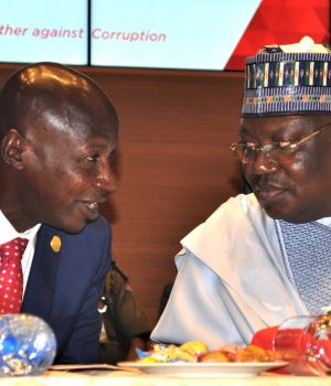 Magu With Senate President Ahmed Lawan