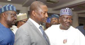 AGF Abubakar Malami and Sen. Ahmad Lana and others