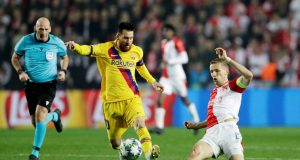 Messi leads Barca to victory in Prague