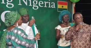 Nigerians in Ghana celebrate Independence @ 59