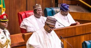 President Buhari presents budget to NASS