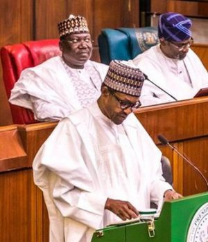 President Buhari presents budget to NASS