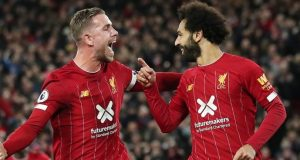 Salah celebrates triumph over Spur