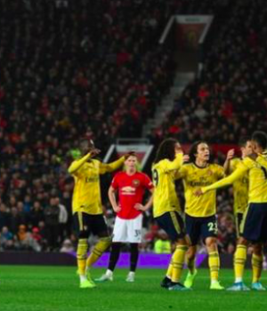 Arsenal held Man United to a one all draw at Old Trafford