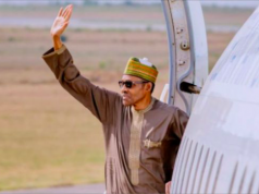 Buhari leaves for Russia