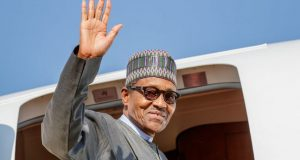 President buhari departs for Saudi Arabia