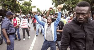 Nigerians protest attack in South Africa
