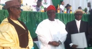 Amb Abikoye and the new ANC chairman, Hon Salihu Mohammed