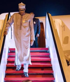 Buhari returns from London