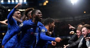 Chelsea players jubilate over 4-4 draw against Ajax