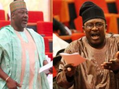 Dino Melaye and. Smart Adeyemi