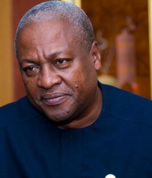 John Dramani Mahama, ex-Ghanaian president