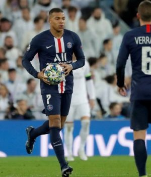 Kylian Mbappe shines as PSG draw in Madrid