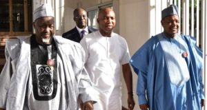 David Lyon, accompanied by Jigsaw and Kebbi state governors in Abuja