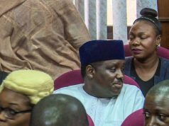 Maina in court