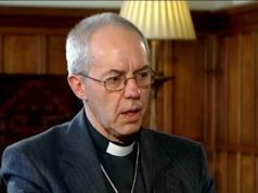 Most Revd Justin Portal Welby