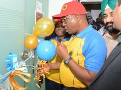NMSL, Dr. Musa Shaibu, commissioning the facility