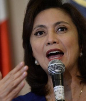 Philippine Vice President Leni Robredo