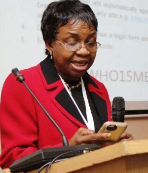 Prof Mojisola Adeyeye, NAFDAC Boss