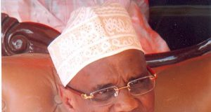 Prof. Ahmed Modibbo, ex-Universal Basic Education (UBEC) boss