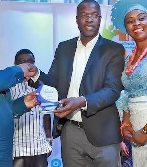 L-R: Namibian High Commissioner to Nigeria, Humphrey Geiseb; General Manager External Relations SPDC, Igo Weli; and Founder Future Trust Initiatives, Dr. Maureen Egbuche,