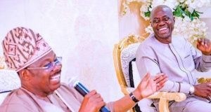 Abiola Ajimobi and Gov. Seyi Makinde