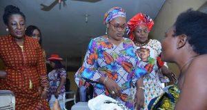 Aisha Buhari's representatives in Edo