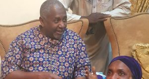 Dasuki returns home