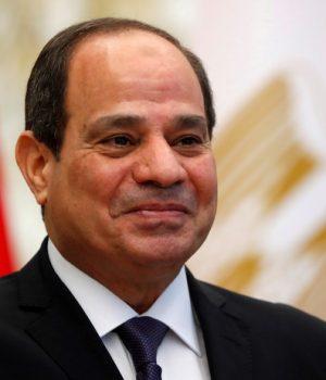 Egyptian President Abdel Fattah al-Sisi