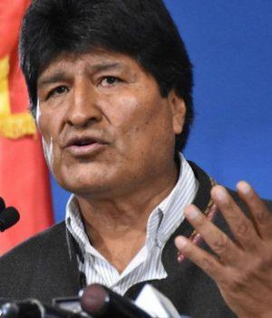 Evo Morales, ex-Bolivian President