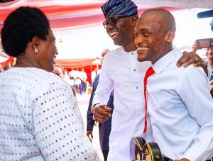 Gov. Sanwo-Olu at the Bethesda Home for the Blind