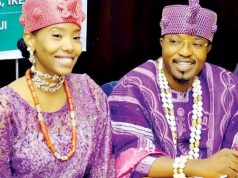 Oluwo of Iwoland, Oba Abdul-Rasheed Adewale Akanbi, and his Queen, Ms. Channel Chin,