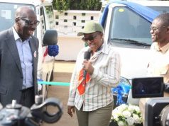 NDDC acting MD, Gbene Dr Joi Nunieh donates ambulances to Edo State