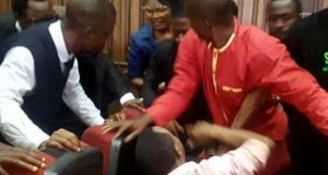 Omoyele Sowore, held up inside court in Abuja by DSS operatives