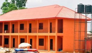 One of the newly-built Edo Best schools