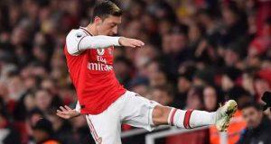 Angry Mesut Ozil