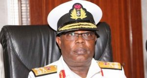 Chief of Naval Staff (CNS), Rear Admiral Ibok Ekwe-Ibas,