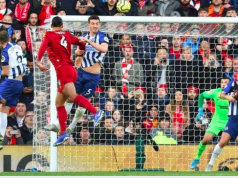 One of Virgil van Dijk's headers
