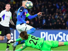 Seventeen-year-old Maarten Vandevoordt was booked when he conceded the penalty