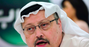 Journalist Jamal Khasoggi, killed by a yet to be identified assailant