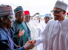 Buhari with Governors Ganduje and Lalong