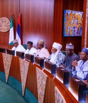 Buhari with Niger top shot