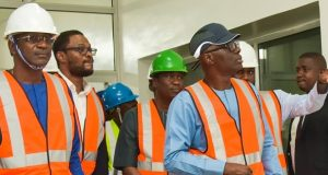 Gov. Sanwo-Olu inspects one of the IPPs in Lagos
