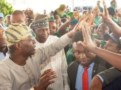 Gov. Sanwo-Olu at the EXOEXCEL Launch
