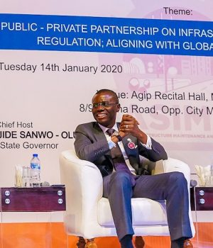 Gov. Sanwo-Olu, others at the PPP forum
