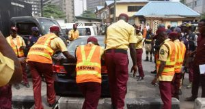 LASTMA officials embark on cleanup