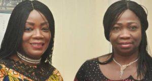 Wendy Odutola and Abike Dabiri-Erewa of NIDCOM