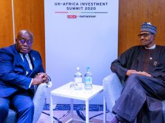 Nana Akufo-Addo and President Buhari