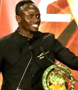 Sadio Mane, CAF Footballer of the Year