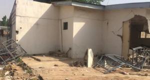 "Saraki's political home, ""Ile Arugbo' demolished"